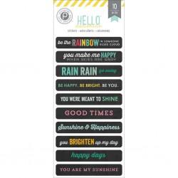 Hello Sunshine Stickers