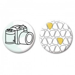 Duo de badges Urbex